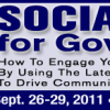 Social Media for Government – September 26-29 in Victoria BC