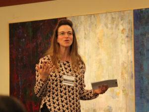 Susanna Haas Lyons speaking 2017