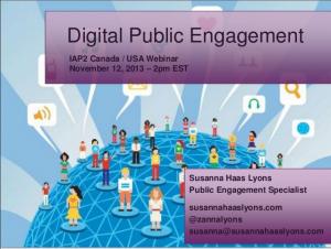 Slides Digital Public Engagement